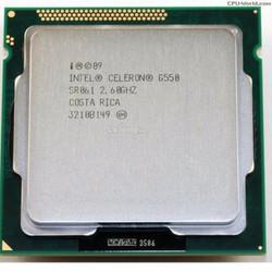 Intel Celeron G550 - 2.6 GHz processor  LGA 1155