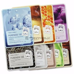Mặt nạ bông cotton Pureness 100 Mask Sheet tony moly