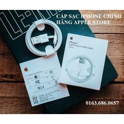 Cáp Sạc Iphone Chính Hãng Apple Store Fullbox