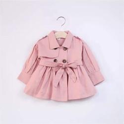 Áo khoác kaki hồng