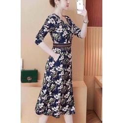 Đầm xoè nữ viền eo cực xinh