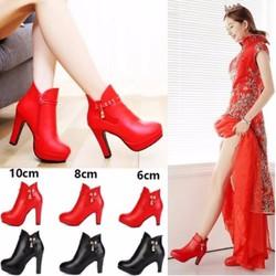 Giày Cưới Tăng Chiều Cao 6-8-10cm stylenew Hàng Nhập Không Thấm Nước