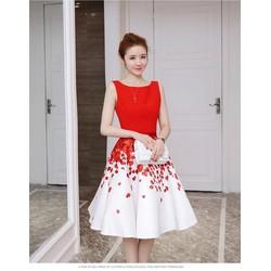 Đầm lụa đẹp y hình