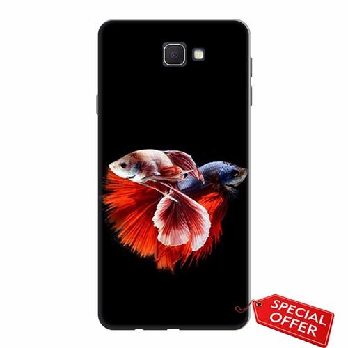 Ốp lưng Samsung J7 Prime_Cá Betta Đỏ