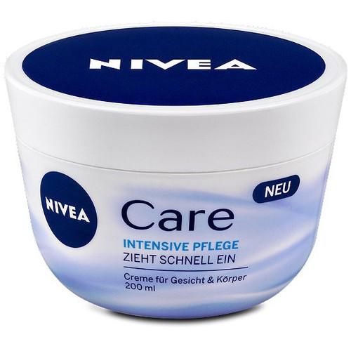 Kem dưỡng ẩm Nivea Care hộp 200ml của Đức