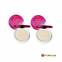 Phấn Phủ CC Cream Cathy Doll, màu be tự nhiên, kiềm dầu