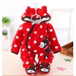 Quần áo mùa đông em bé 1- 2 tuổi