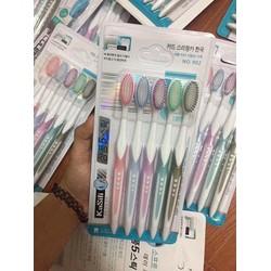 Vỉ 5 bàn chải đánh răng Hàn Quốc