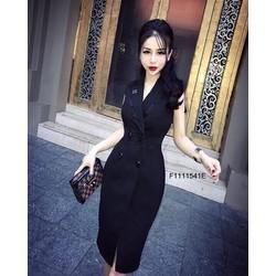Đầm body cổ vest viền ren sát sách hàng thiết kế! MS: S111159 sỉ: 145K