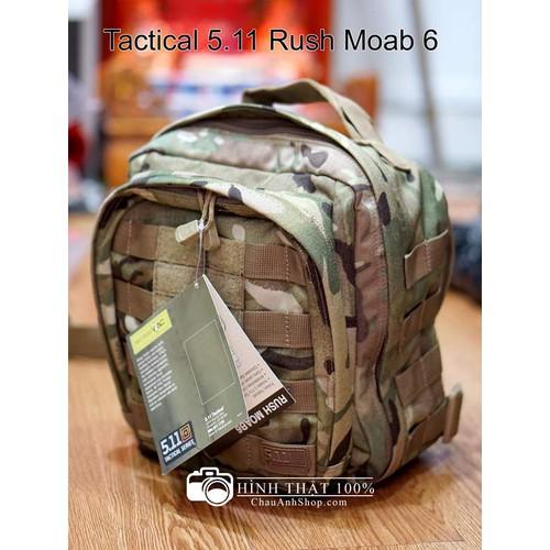 Balo đeo chéo 1 quai 5.11 tactical moab 6 màu lính
