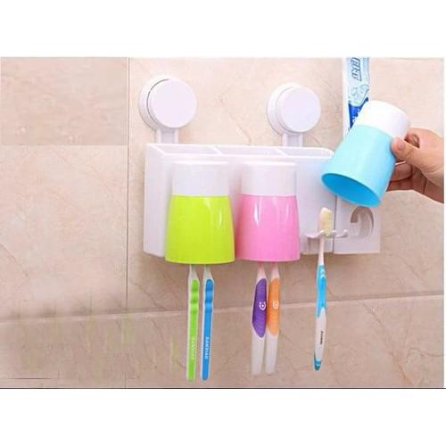 Bộ dụng cụ lấy kem đánh răng tự động kèm 3 cốc nhựa - 10496298 , 7722925 , 15_7722925 , 120000 , Bo-dung-cu-lay-kem-danh-rang-tu-dong-kem-3-coc-nhua-15_7722925 , sendo.vn , Bộ dụng cụ lấy kem đánh răng tự động kèm 3 cốc nhựa