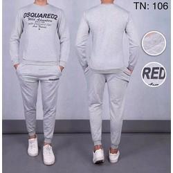 Bộ quần áo thể thao nam DSQUARE 2017