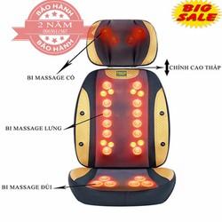 Đệm ghế massage toàn thân 2 mảnh hồng ngoại-0965.011.567