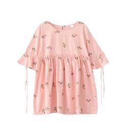 Đầm babydoll hoa - ODA059