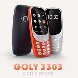 Điện thoại giá rẻ 2 sim Goly G3303 chính hãng