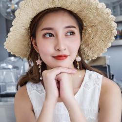 Khuyên tai nữ thời trang thiết kế dáng dài phong cách ngọt ngào
