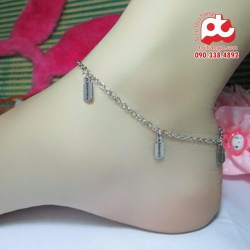 Lắc chân nữ |Lắc chân inox nữ | Lắc chân nữ inox cao cấp đẹp - 10498277 , 7743917 , 15_7743917 , 78000 , Lac-chan-nu-Lac-chan-inox-nu-Lac-chan-nu-inox-cao-cap-dep-15_7743917 , sendo.vn , Lắc chân nữ |Lắc chân inox nữ | Lắc chân nữ inox cao cấp đẹp
