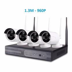 Camera kit wifi 4 camera 1.3M - 960P
