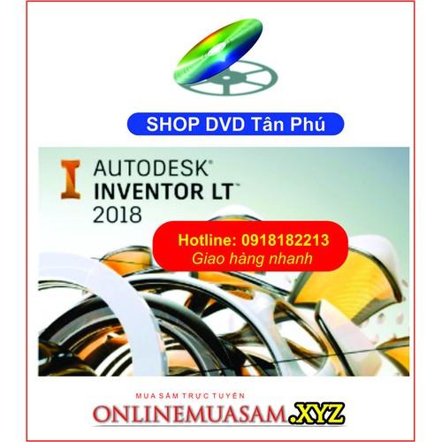 Bộ DVD Autodesk INVENTOR 2018