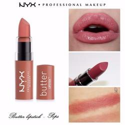 Son bơ NYX Professional Makeup Butter Lipstick BLS17 Pops