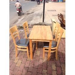 bộ bàn ghế nhà hàng có rất nhiều mẫu