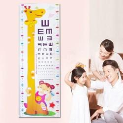decal đo chiều cao và đo mắt cho bé