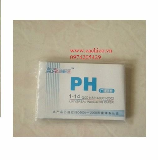 Giấy quỳ tím đo độ pH 1-14 2