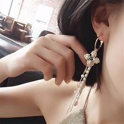 Khuyên tai nữ thời trang kiểu dáng năng động trẻ trung mẫu Hàn