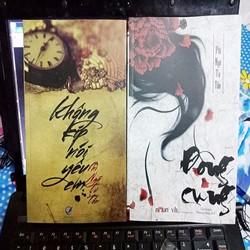 Combo 2 cuốn Đông cung và không kịp nói lời yêu em
