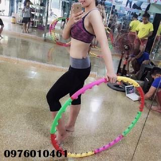 Vòng lắc eo massage Hula Hoop - vòng lắc eo massage thumbnail