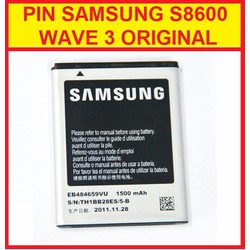 PIN SAMSUNG S8600 WAVE 3 ORIGINAL
