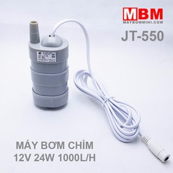 Máy bơm chìm 12V 24W 1000L JT-550