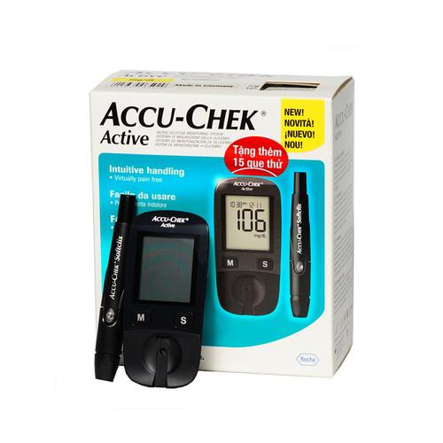 [ TẶNG QUÀ ] Máy đo đường huyết Accu-Chek Active GU + 25 quẻ thử - 7735844 , 7768002 , 15_7768002 , 1120000 , -TANG-QUA-May-do-duong-huyet-Accu-Chek-Active-GU-25-que-thu-15_7768002 , sendo.vn , [ TẶNG QUÀ ] Máy đo đường huyết Accu-Chek Active GU + 25 quẻ thử