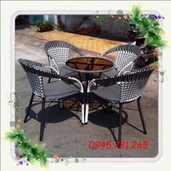 bàn ghế cafe giá rẻ nhất thị Trường