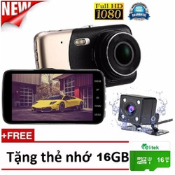 Camera Hành Trình Full HD 1080P 2560 Camera Lùi Siêu Nét Tặng Thẻ 16GB