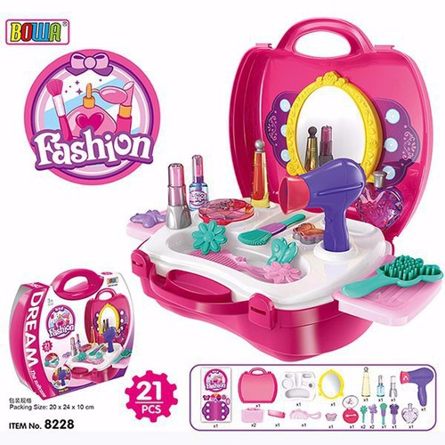 Bộ đồ chơi trang điểm cho bé gái BOWA 8228 – Babi plaza