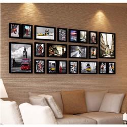 Bộ 20 khung ảnh treo tường đại sảnh phòng khách MS200