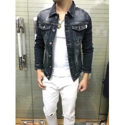 áo khoác jean cao cấp chống nắng