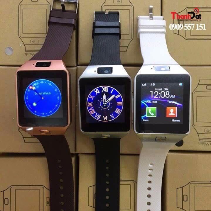 Đồng Hồ Thông Minh Smart Watch DZ09 Gold 14
