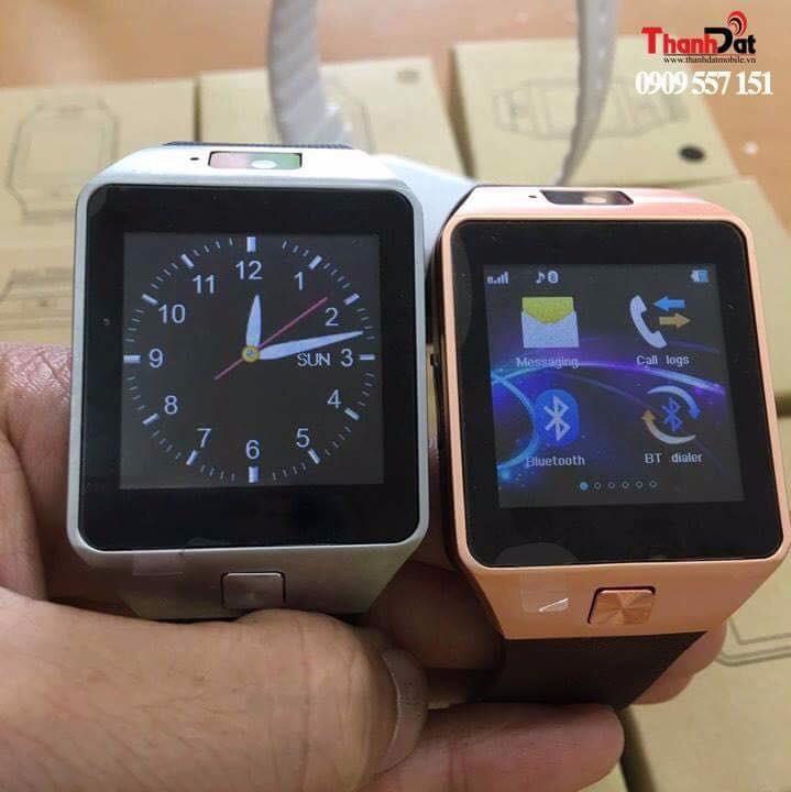Đồng Hồ Thông Minh Smart Watch DZ09 Gold 11