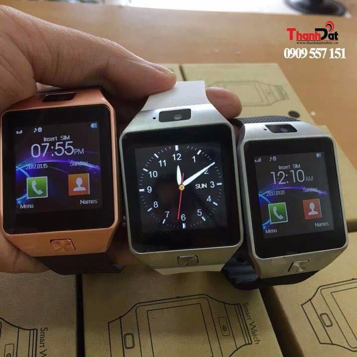 Đồng Hồ Thông Minh Smart Watch DZ09 Gold 19