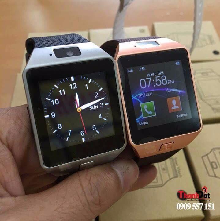 Đồng Hồ Thông Minh Smart Watch DZ09 Gold 15
