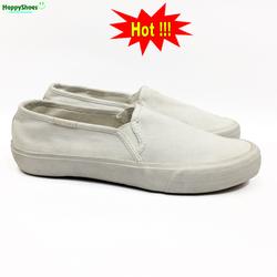 Giày lười trắng nữ thời trang Việt Nam xuất khẩu