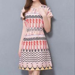 Đầm suông phong cách Vintage