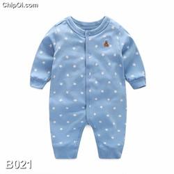 Bodysuit áo liền quần in hình ngôi sao cho trẻ sơ sinh giá rẻ