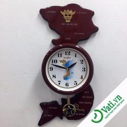 đồng hồ treo tường độc đáo - Thích hợp làm quà tặng