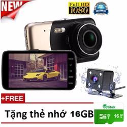 Camera Hành Trình Camera Lùi Siêu Nét Full HD 1080P 2560 Free Thẻ 16GB