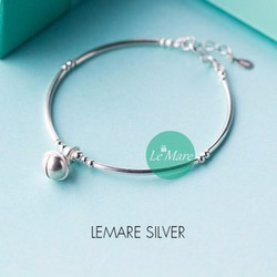 LẮC TAY CHUÔNG LEMARE SILVER