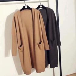 Áo khoác len, cardigan phong cách hàn quốc