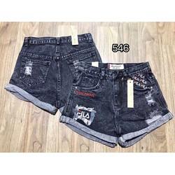 Short jean nữ thời trang